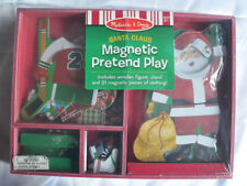 Melissa & Doug Santa Claus Magnetic Pretend Play Dress-up Set Kit Christmas