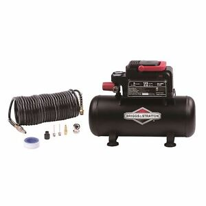 Briggs & Stratton 3 Gallon Air Compressor with 8 Piece Accessory Kit