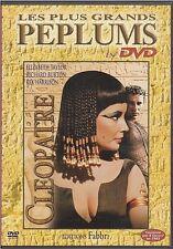 DVD CLEOPATRE peplum ELISABETH TAYLOR RICHARD BURTON