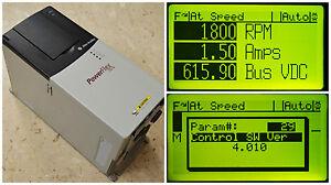Allen-Bradley PowerFlex 700 10 HP 20BD014A0AYNANC0 480 VAC Tested 24 VDC Inputs