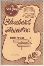 "Robert Preston  ""Nobody Loves An Albatross""  Playbill TRYOUT 1963  Carol Rossen"