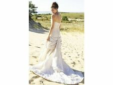 Nicole Miller Bridal Wedding Dress Gown IK0004 Size 0, Stunning Italian Taffeta