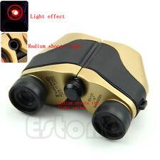 Spotting Scope LED Telescope Binoculars Optical Zoom 5m-10000M Gold New 80x120