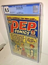 Pep Comics #86, CGC 8.5, Off-White Pages