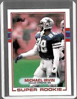Michael Irvin 1989 Topps #383 RC Cowboys NFL MINT