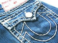 *HOT! AUTHENTIC Men's TRUE RELIGION @ JOEY SUPER T FLARED BOOTCUT Jeans 30 x 29