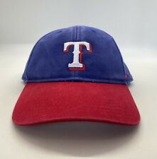 '47 MLB Texas Rangers Cap Hat Kids Adjustable Blue&Red 100%Cotton
