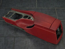 BMW 5er E60 E61 M5 Mittelkonsole Armlehne Vollleder Merino Indianapolis Rot