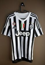 dcd976f7c JUVENTUS 2015 2016 HOME ADIDAS FOOTBALL SHIRT SOCCER JERSEY SIZE S JEEP  ITALY