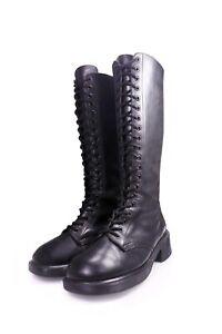Dr. Martens 20 loch Stiefel Schnürstiefel gothic boots goth made in England 38
