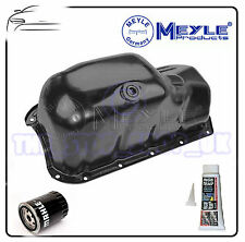 FIAT DOBLO PALIO PANDA PUNTO ENGINE OIL SUMP PAN BY MEYLE & OIL FILTER