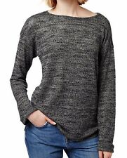TOPSHOP ~ Women's High/Low Hem Space Dye Pullover Sweater ~ Size US 4