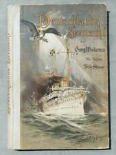 Deutschlands Seemacht - Wislicenus, Georg 1901 mit original Signatur Admiral???