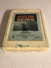 Neil Young After the Gold Rush 8 Track Tape rare late Lear Jet Tested