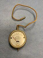 Vintage 1920's Yankee Volt Meter Gauge 2 inch 0-50V Antique