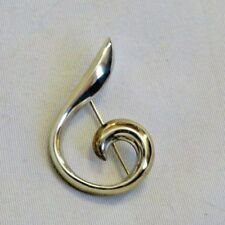 Vintage CYNTHIA GALE Sterling Silver Brooch Pin Jewelry (ac1014)