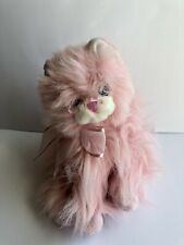 2006 Ty Classic Muffet Pink Cat Long Hair Persian Plush Stuffed Animal Toy