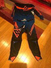 "Answer Racing Trinity Race LG Jersey 34"" Pants Combo Kit Black Blue Orange"