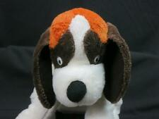 KOHLS CARES FOR KIDS BROWN DOG BRODY PLUSH DUCK AT THE DOOR BOOK ST BERNARD 12""