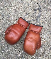 Genuine Vintage Leather Boxing Gloves