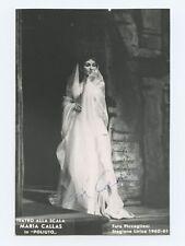 Maria CALLAS (Opera): Signed Photograph in Poliuto