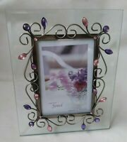 """"""" Almost unused """" Wire Photo frame Jewel of Japanese Company Ishiguro From Japan"""