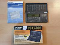 SHARP PC-E500S / 256 KB Pocket Computer, BASIC Calculator, Taschenrechner #769