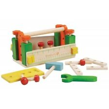 NEW EverEarth Tool Box Workbench -Kids Boys Work Bench Tools Building Wooden Toy