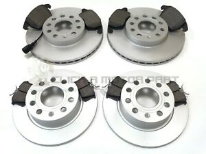 VW SCIROCCO 1.4 TSi 2.0 TDi FRONT & REAR BRAKE DISCS AND PADS (288mm ONLY)