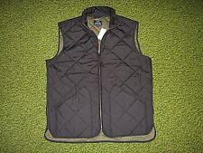 $150. Men's Black Quilted Vest (M) J. CREW