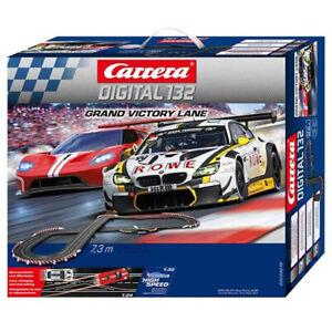 Carrera Digital 132 30019 Grand Victory Lane 1/32 Slot Car Racing Set