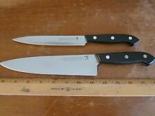 "J.A. Henckels 8"" Chef's & 6"" Boning/Carving Knives 31325 & 31320 Made in Spain"