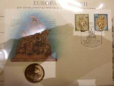 DDR Numisbrief 1990 Zeughaus Berlin mit 5 Mark Münze.