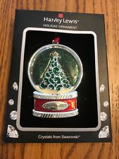 "Christmas Ornaments Holiday "" Christmas 2017"" Crystal From Swarovski Ships N 24h"