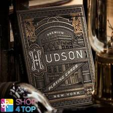 BLACK HUDSON THEORY 11 PREMIUM PLAYING CARDS DECK MAGIC TRICKS GOLD SEALED NEW