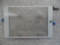 For iPad air IPad Mini 4 Front Panel Touch Screen Digitizer Replacement - White