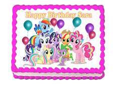 My Little Pony party edible cake image cake topper frosting sheet decoration