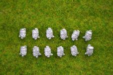 Trent Miniatures HIGHLAND BONNET Single Feather SEPARATE HEADS EDZ#12