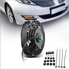 8inch Push Pull Electric Cooling Fan 1350cfm Slim Engine Radiator Kit for Volvo