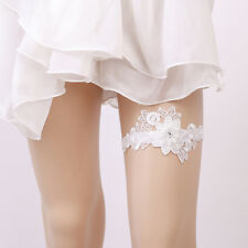 Lace Wedding Garter Flowers Sexy Garters Romantic Ceremony Bridal Thigh Ring new
