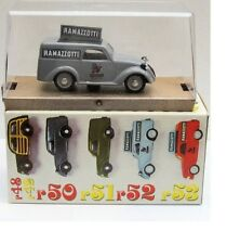 BRUMM R52 FIAT 500 A PUBLICITY VAN RAMAZZOTTI BOXED DIECAST MODEL