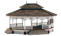 New Woodland HO Scale Structure Built-&-Ready Grand Gazebo BR5035