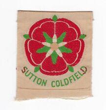 Boy Scouts United Kingdom - badge district region Sutton Coldfield approx 1955