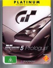 GRAN TURISMO 5 PROLOGUE PS3 Game