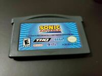 Sonic Advance (Nintendo Game Boy Advance GBA) CART ONLY authentic tested working