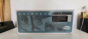 Klipsch Quintet II Microsystem New Old Stock