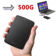 "US 500GB 2.5"" Toshiba Canvio Basics Portable External Hard Disk Drive USB3.0"