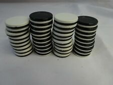OTHELLO Game Replacement Pieces 38 Reversible White & Black Disks