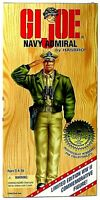 "GI JOE WW2 50th Anniversary Commemorative Edition NAVY ADMIRAL 12"" Figure NEW!"
