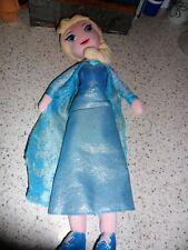 """Disney Princess-Elsa - 18"""" plush doll-Frozen #1"""